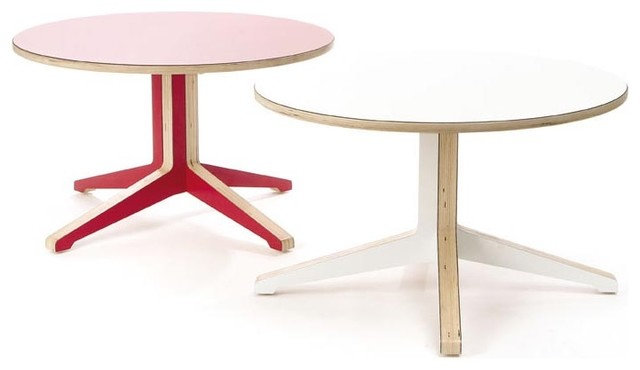 Context Furniture - Truss Occasional Table modern kids tables