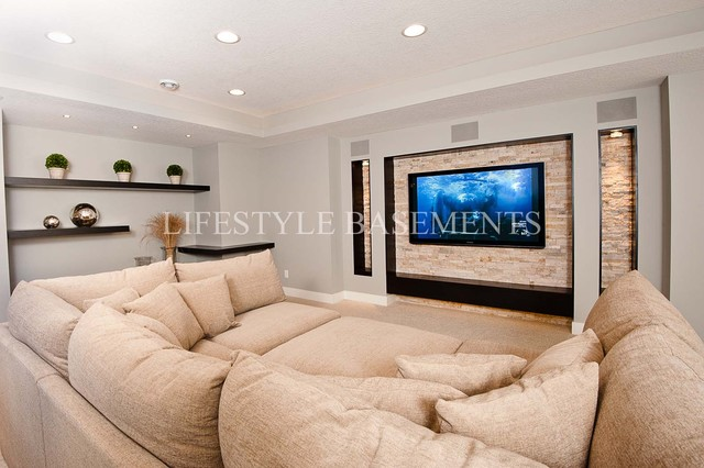 Woodhill contemporary-basement