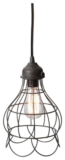 Lazy Susan LZS-225033 Wire Rose Pendant Light contemporary-pendant-lighting