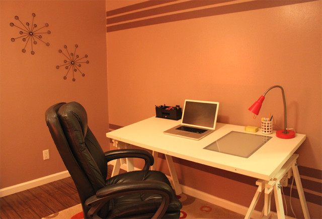 Knolls Home contemporary-home-office