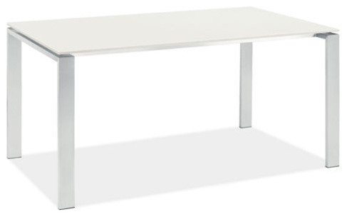 Rand Stainless Steel Table contemporary dining tables