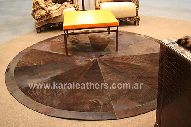 ... RUG - COW HIDE- FUR -HIDES SKINS- LEATHER RUG -R contemporary-rugs