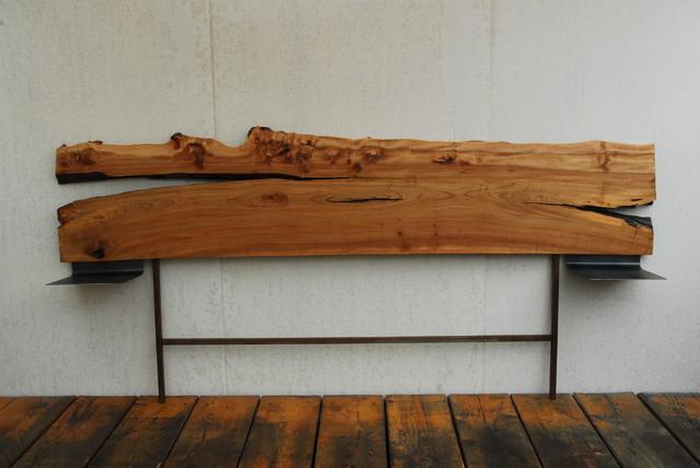 live edge furniture industrial-headboards