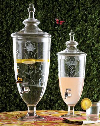 Savannah 1.85-Gallon Beverage Dispenser traditional-wine-and-bar-tools