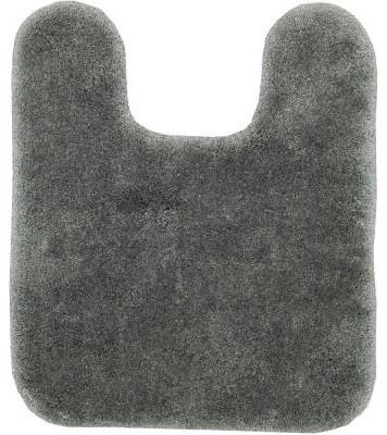 "Floor Mat: Grey Flannel 20"" x 24"" Contour Bath contemporary-bath-mats"