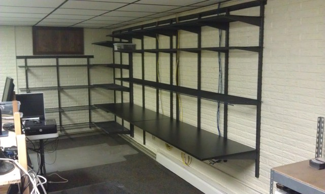 Closets & Organization Systems traditional-garage-and-shed
