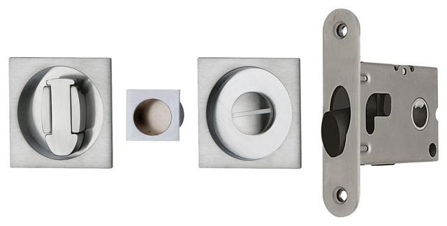Pocket Sliding Door Lock Contemporary Pocket Door Hardware Other
