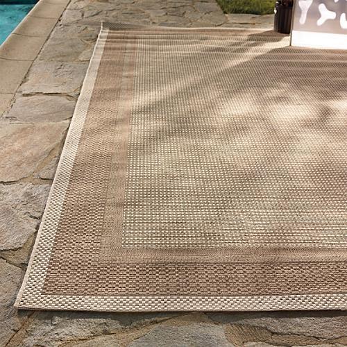 Capri Outdoor Rug Traditional Doormats By Frontgate