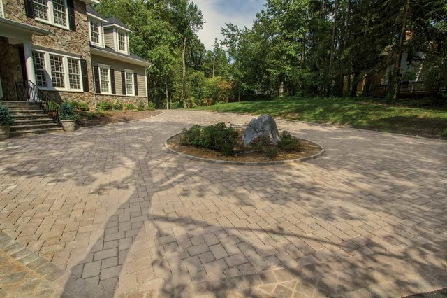 ECO Friendly Driveway Pavers Craftsman Outdoor Decor Philadelphia By