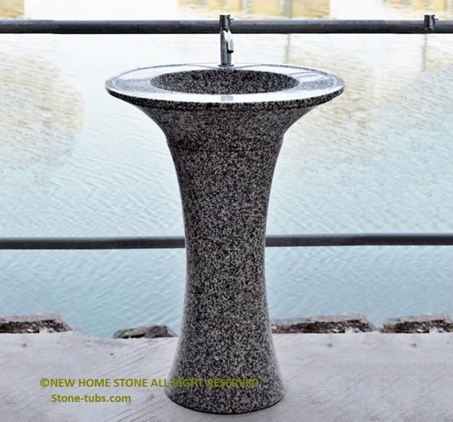 Pedestal Sink - Modern - Bathroom Sinks - other metro - by luxury ...