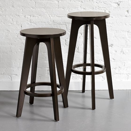 Contemporary Barstools Wood Joy Studio Design Gallery 24 Counter Kitchen Stool In Black And Oak