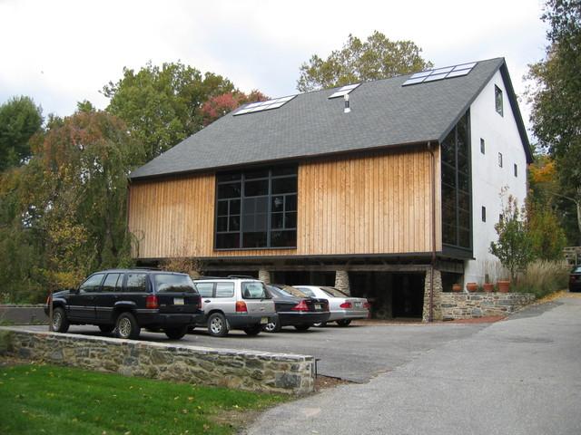 Bank Barn Renovation contemporary