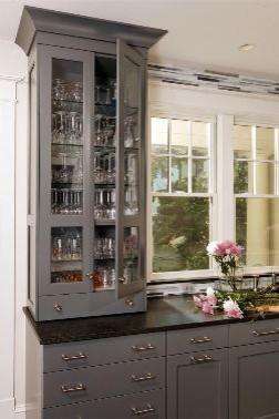 Gray Kitchen Remodel traditional-kitchen