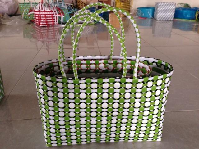 Plastic rope bag and storage baskets collection craftsman-baskets