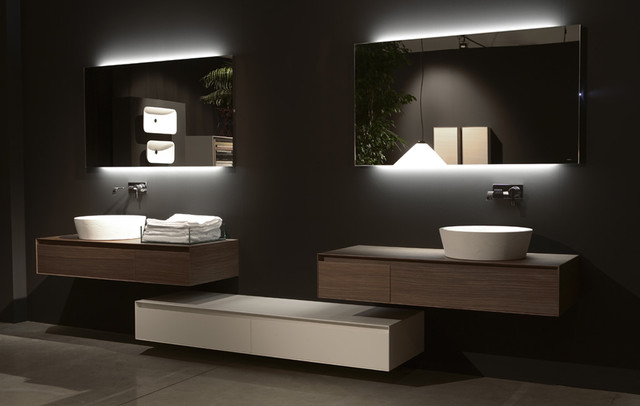 Antonio Lupi Back lit Mirrors - Modern - Bathroom Mirrors - vancouver - by Ambient Bathrooms