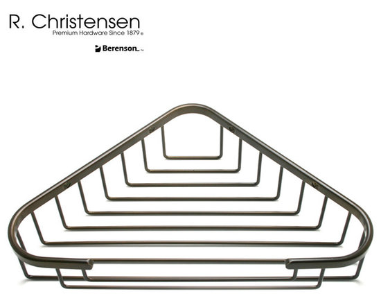5317US10B Oil Rubbed Bronze Shower Basket by R. Christensen - 12-5/16 inch wide shower basket by R. Christensen in Oil Rubbed Bronze.