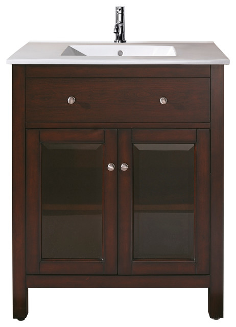 Lexington 24 In Vanity Combo Transitional Bathroom Vanities And Sink Con