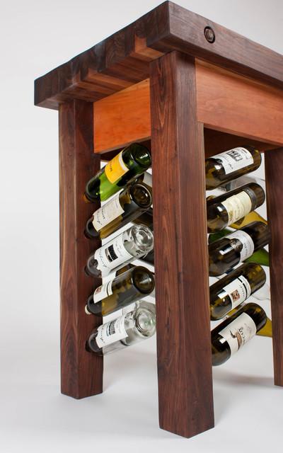 black walnut wine rack butcher s block