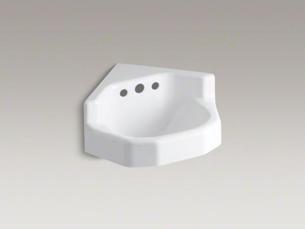 Kohler Corner Toilet : All Products / Bath / Bathroom Sinks
