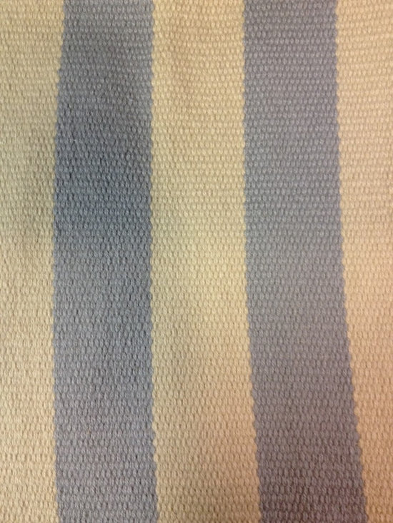 Woven Wool Flatweave Stripe - Custom colors & sizes - This is woven New Zealand wool flatweave that is made in the USA.  Choose the color and design of your stripes.  This rug can be made in most any size.  Offered by Hemphill's Rugs & Carpets Orange County, California.