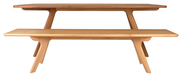 Charles Bench by Nuans Design modern-indoor-benches