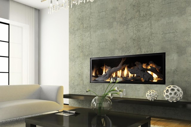 Fpx xtreme 6020 linear greensmart gas fireplace modern for Linear fireplace ideas