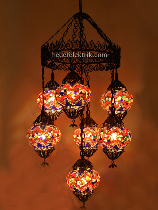 Turkish Style - Mosaic Lighting - Code: HD-04160_82