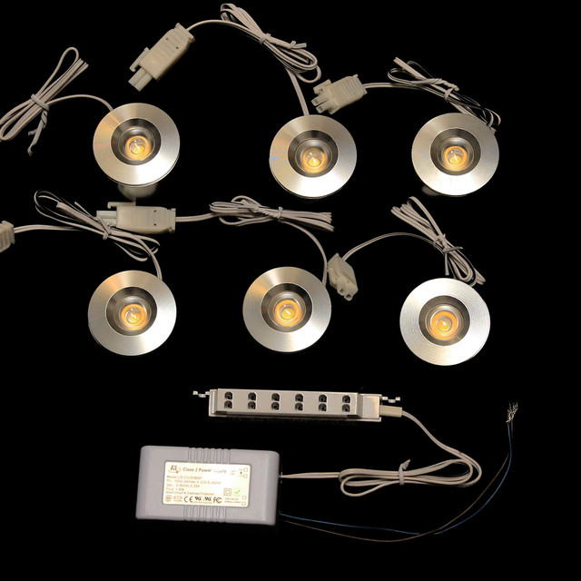 LED Puck Light and Downlight Kits - Traditional - Undercabinet Lighting - san diego - by ...