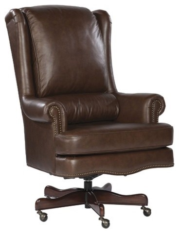 Pillow Leather Executive Office Chair traditional task chairs