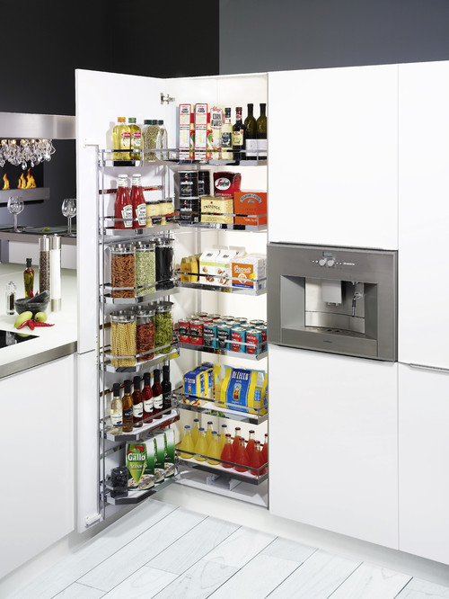 How to get the most pantry storage from a small space