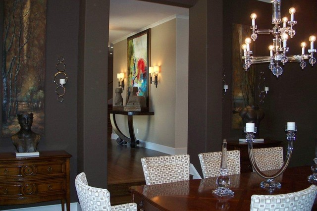 Contemporary Home traditional-dining-room