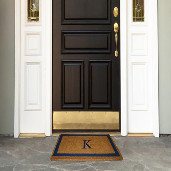 Coco Mat, Monogram traditional-doormats
