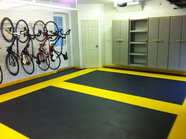 Garage flooring modern wall and floor tile london