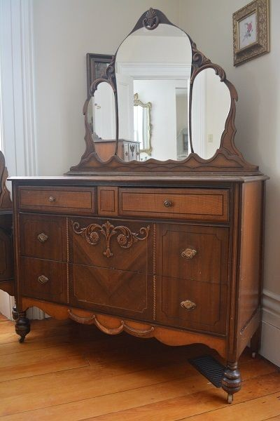 1930s Fancy French Beauty Dresser Sold Traditional