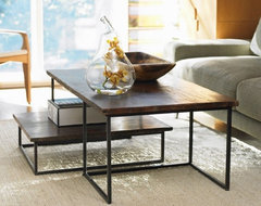VivaTerra - Railroad Tie Coffee Table Duo modern coffee tables
