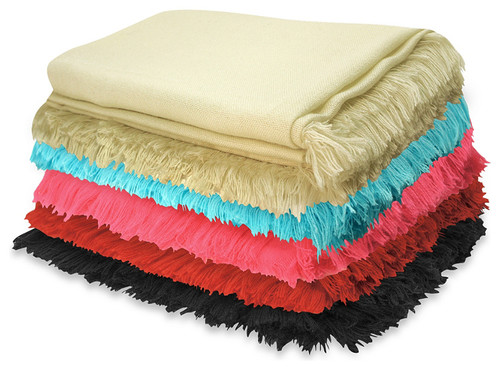reading corner Be comfortable: set a comfy reading corner contemporary throws