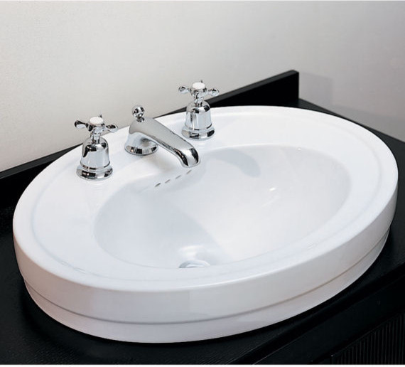 Above The Counter Bathroom Sinks : ... Above Counter Basin - Bathroom Sinks - new york - by Quality Bath