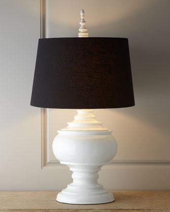 "White ""Burma"" Lamp traditional-lamp-shades"