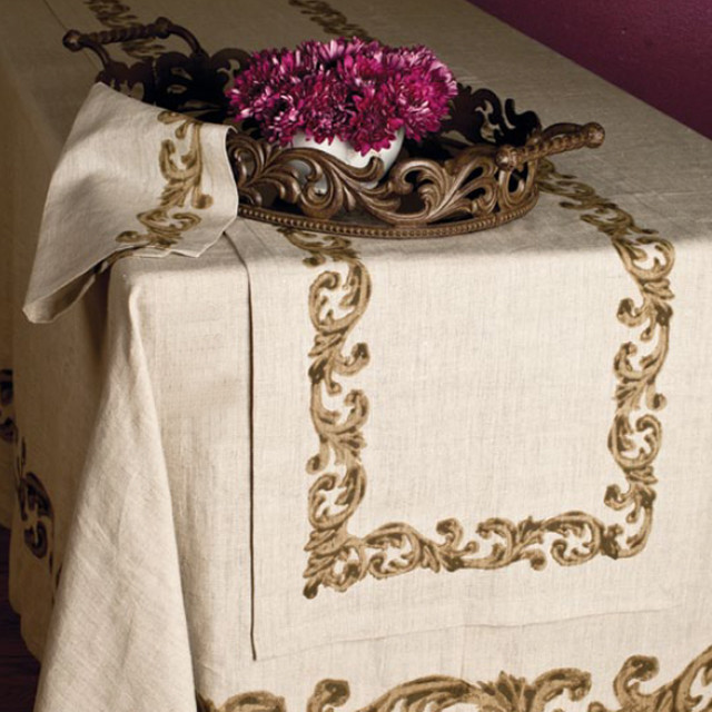 The GG Collection Table Linens - mediterranean - tablecloths