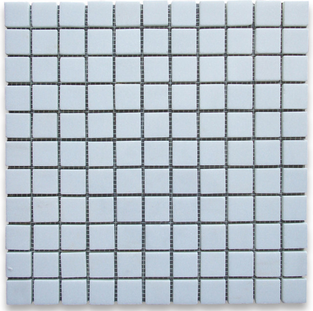Thassos White 1 x 1 Square Mosaic Tile Polished - Marble from Greece mosaic-tile