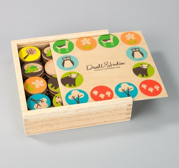 Woodland Memory Game modern kids toys