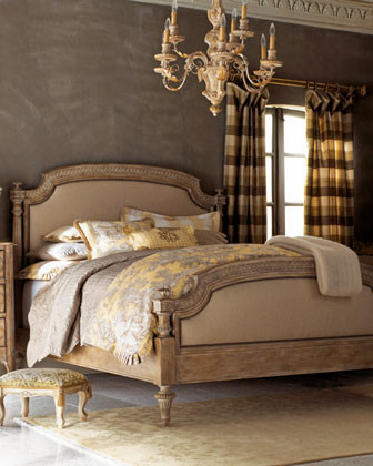 """Tuscany"" Bedroom Furniture  traditional-beds"