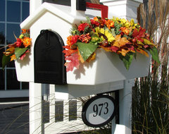 Creative Mailbox Planters traditional mailboxes