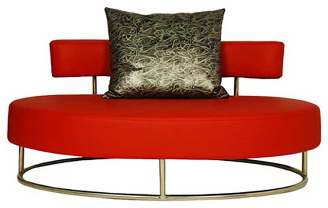 oyster contemporary comfortable lounge chair red. Black Bedroom Furniture Sets. Home Design Ideas