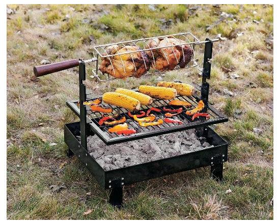 Rome Firepan Rotisserie Grill -