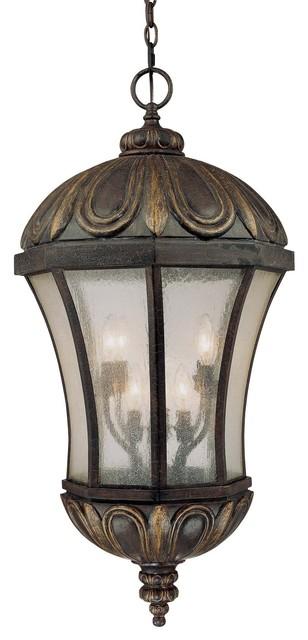 Ponce De Leon Hanging Lantern mediterranean-pendant-lighting