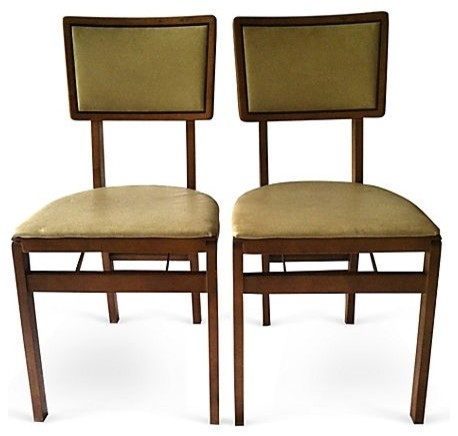 Vintage Mod Chairs eclectic-furniture