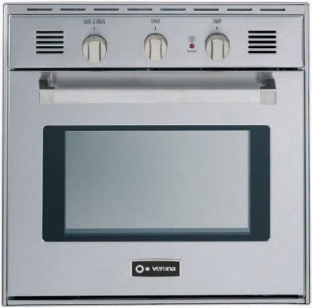 "VEBIG24E 24"" Single Gas Wall Oven with 2.0 cu. ft  Electronic Ignition  EZ Clean contemporary-ovens"