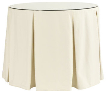 Pleated Terrific Tablecloth Traditional Tablecloths
