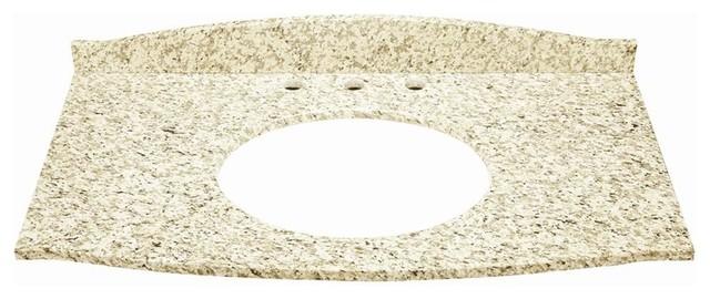 Gavin 37 in. Granite Countertop in Carmello contemporary-vanity-tops-and-side-splashes